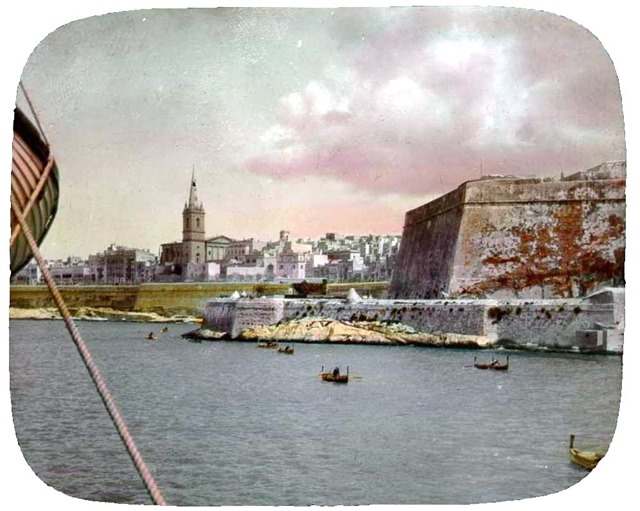 Malta, view of city. 1896