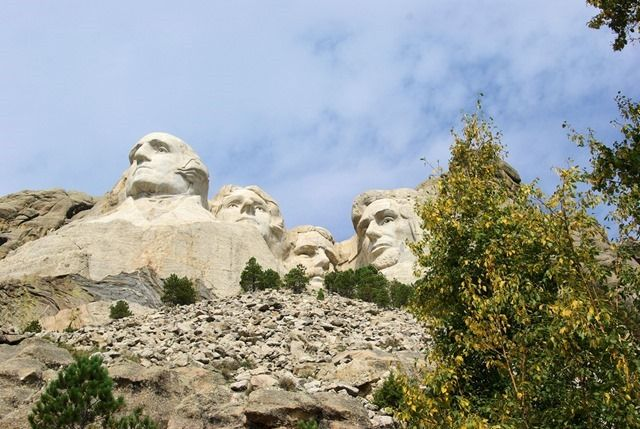 Mt. Rushmore, South Dakota, August 22, 2007