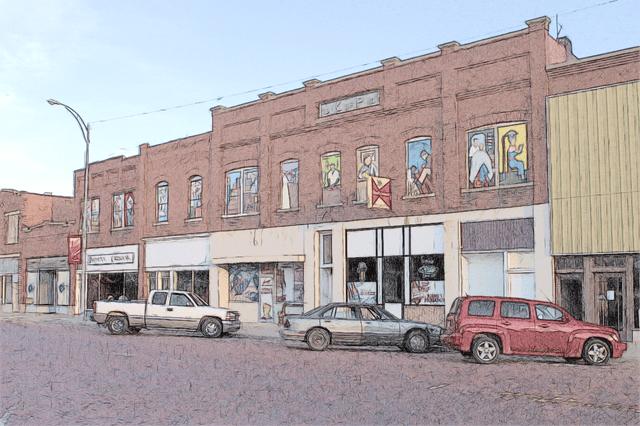Kinsley, Kansas - August 4, 2014