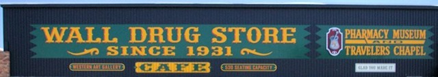 Wall Drug, Wall, South Dakota, August 11, 2014