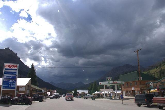 Cooke City General Store, Absaroka Range, Montana, August 13, 2014