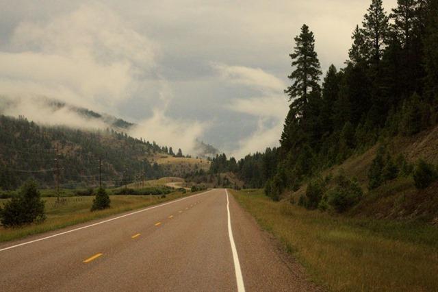 Pintler Veterans' Memorial Scenic Highway, Montana, August 22, 2014