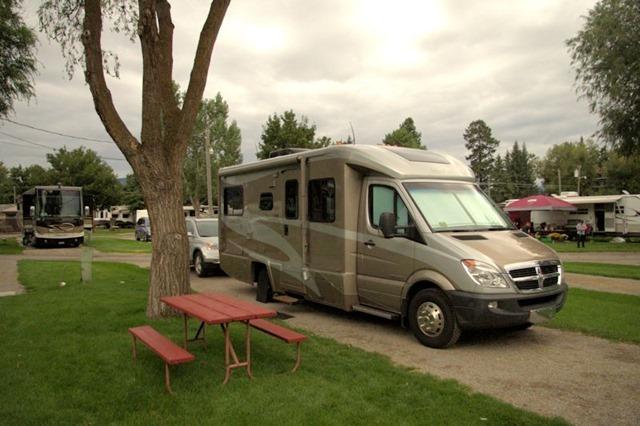 RV park,  Missoula, Montana, August 23, 2014
