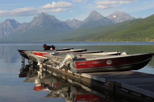 Lake McDonald from Apgar Village, Glacier National Park, Montana, August 25, 2014