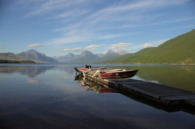 Lake McDonald from Apgar Village, Glacier National Park, Montana, August 25, 2014