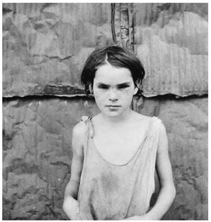 Damaged Child, Shacktown, Elm Grove, Oklahoma