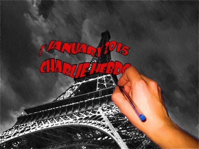 7 January 2015 - Charlie Hebdow