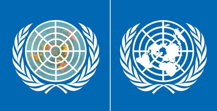 UN flache Erde