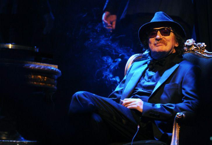 El músico argentino Charly García, hospitalizado de nuevo