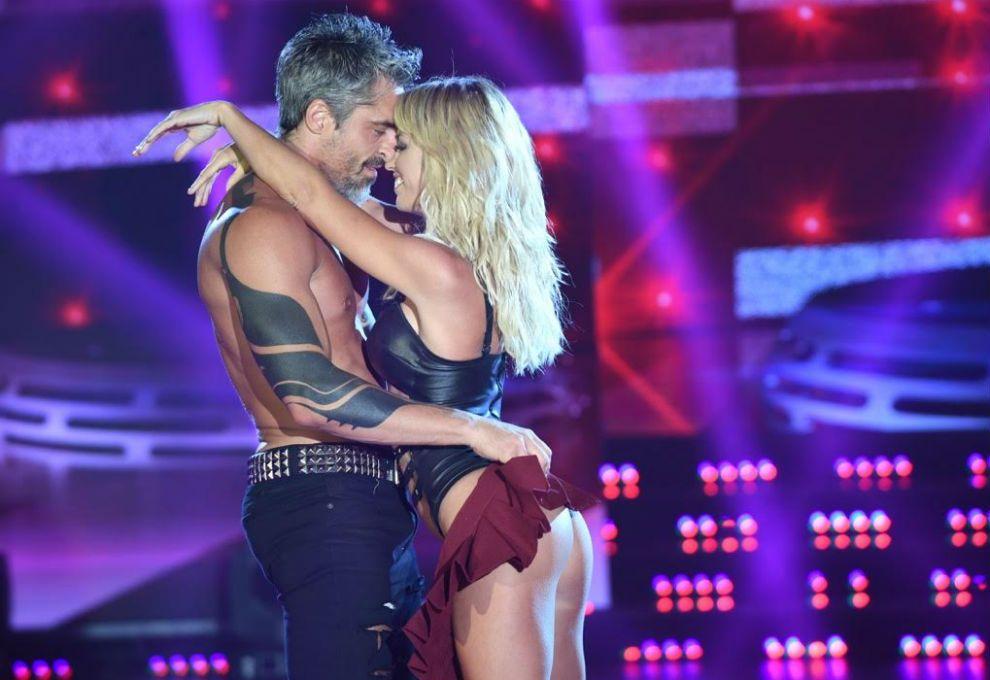 Rocío Guirao Díaz y Nicolás Paladini la rompieron en el Bailando
