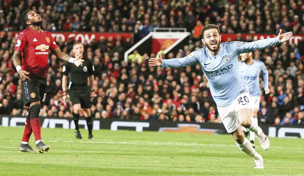 Premier League: Manchester City vence 2-0 a United