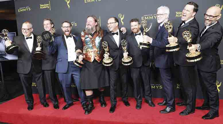 Antes de la ceremonia, Game of Thrones se llevó diez premios Emmy