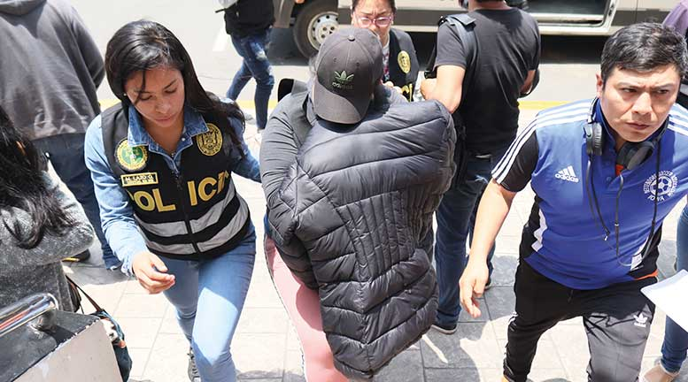 Capturan a 11 integrantes de red de pornografía infantil