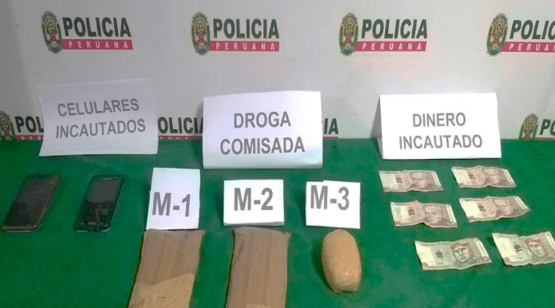 Huánuco: Capturan a sujetos que transportaban droga adherida al cuerpo
