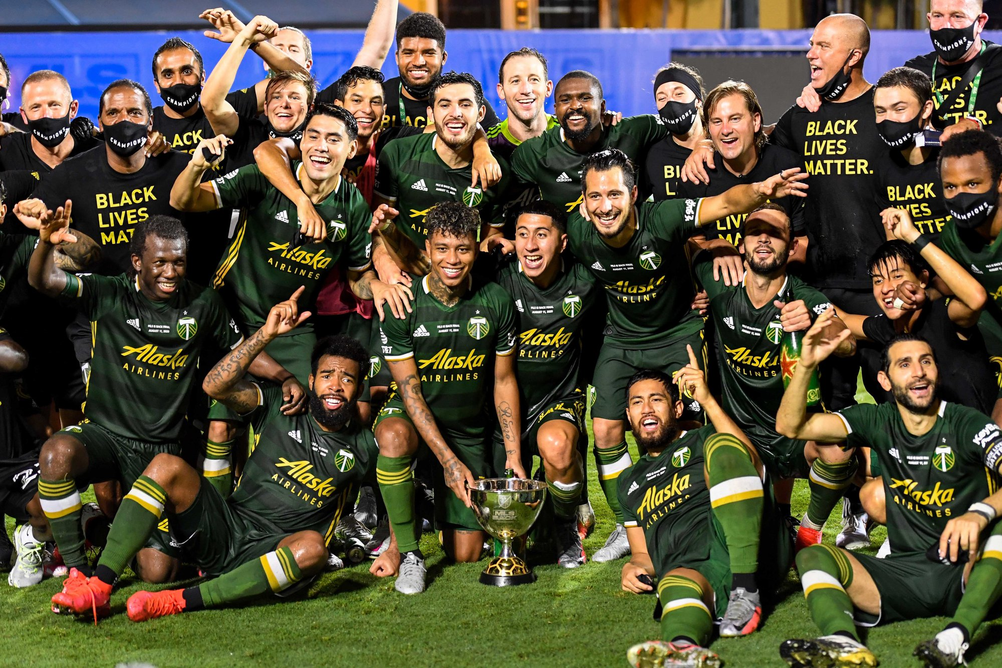 Andy Polo se proclamó campeón de la MLS is Back