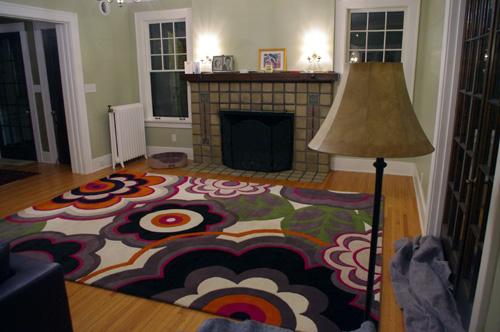 New living room carpet.