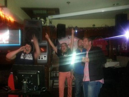 Don't Stop Believin'  (I'm on the far left, in orange pants)
