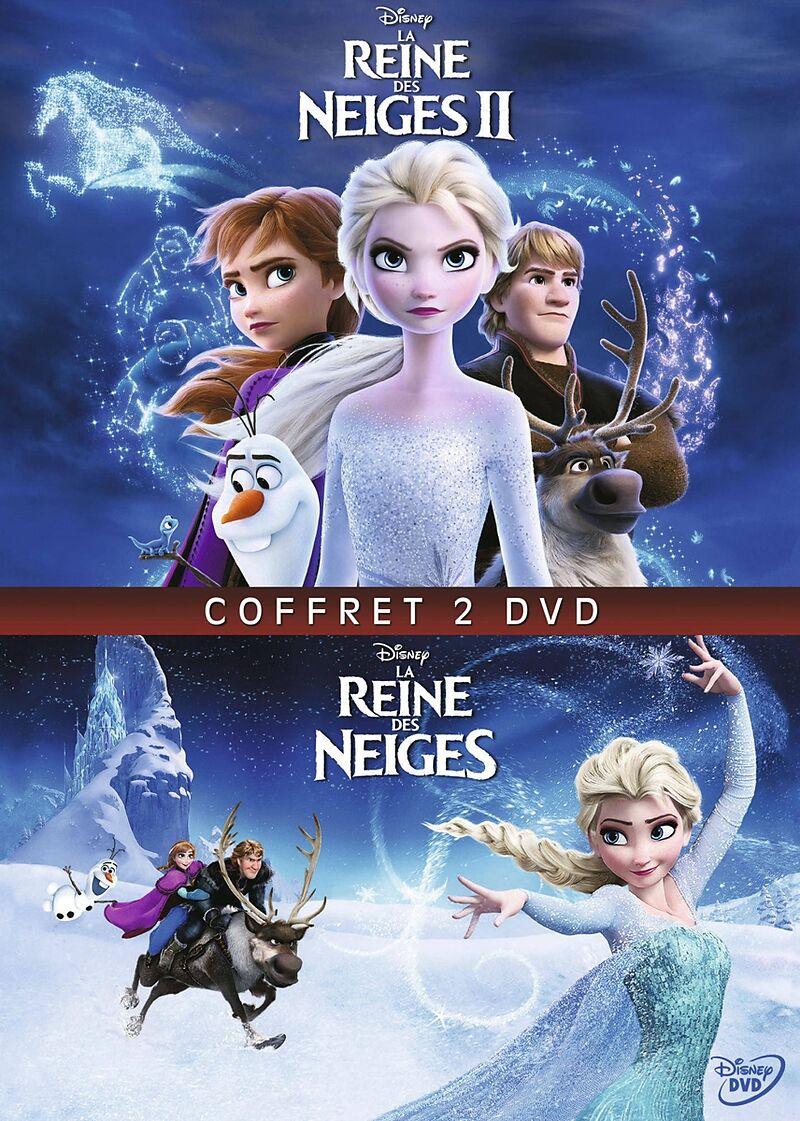 La Reine Des Neiges Dvd : reine, neiges, Reine, Neiges, Multipack, Acheter, Ligne, Libris