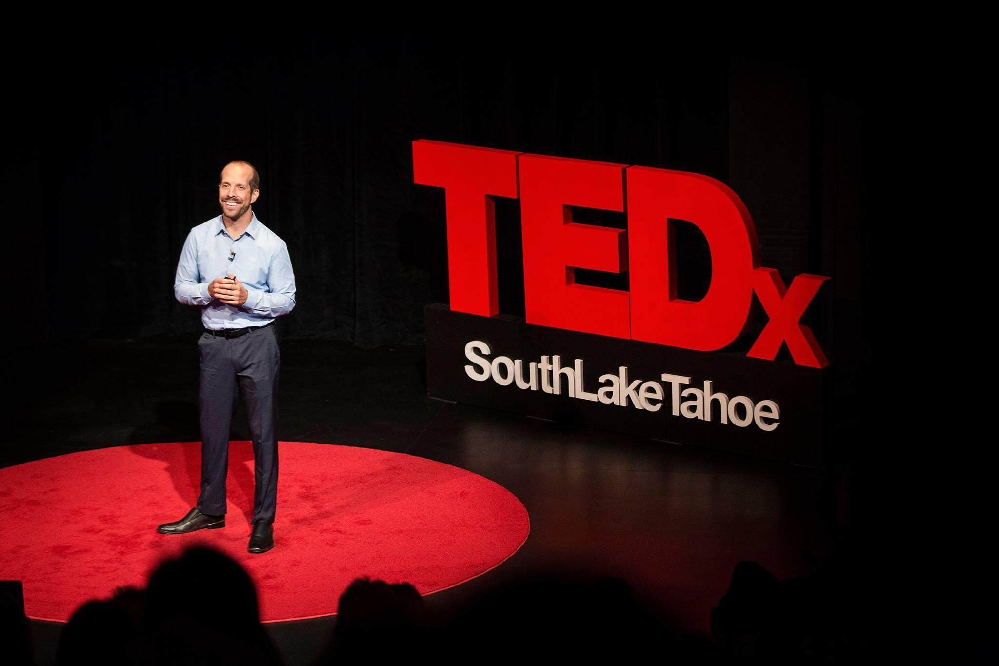 Nick Exline at TED Talk