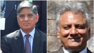 Anil Kumar Dhasmana (L), a 1981-batch IPS officer, will head the R&AW. Rajiv Jain (R), a 1980-batch Jharkhand cadre IPS officer, is the new IB chief.