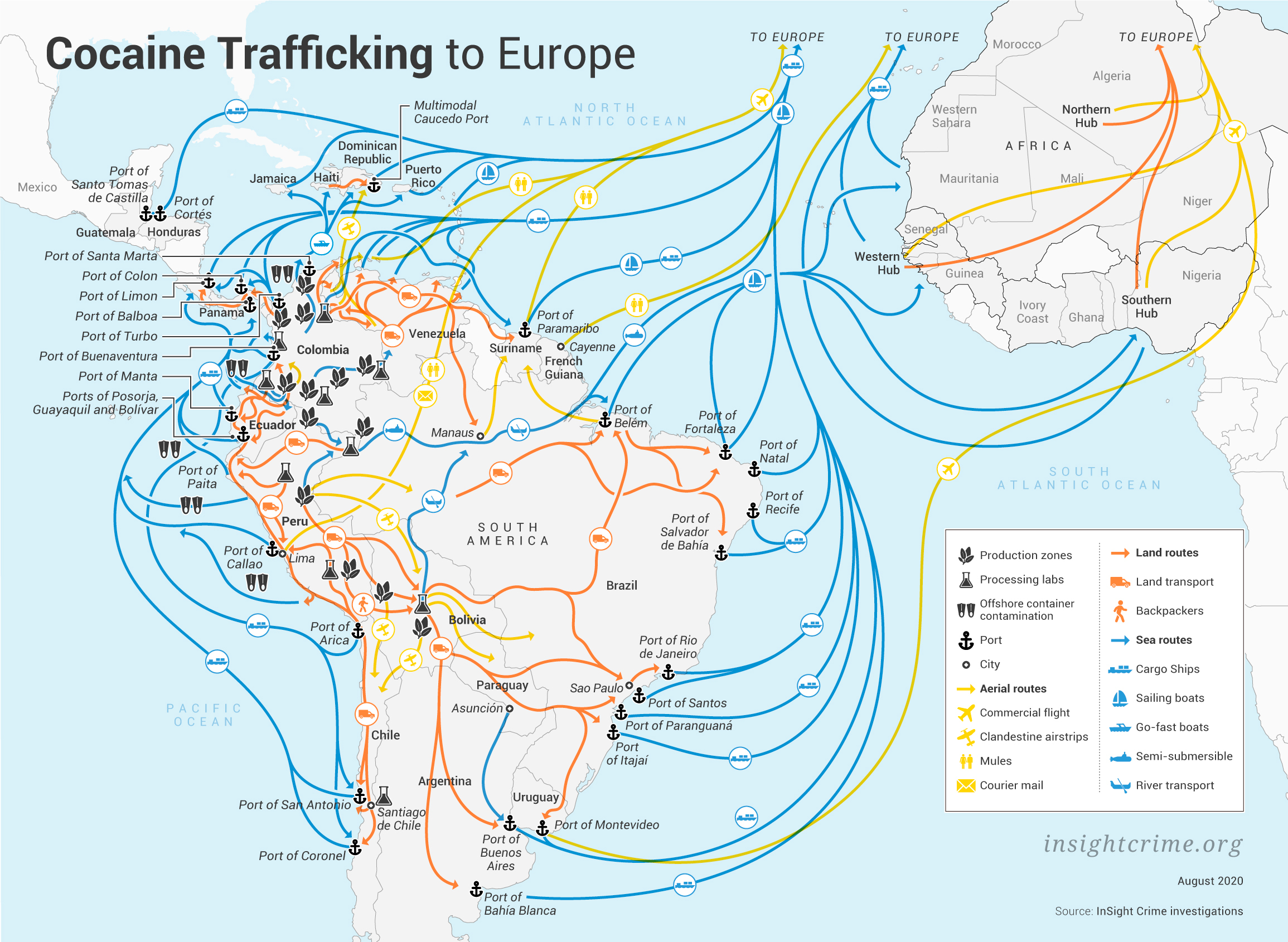 [#CRIMORG] Article: « Cocaine to Europe: An Underestimated Threat » – by @InSightCrime