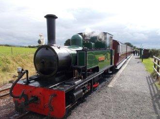 Woody Bay Steam Train