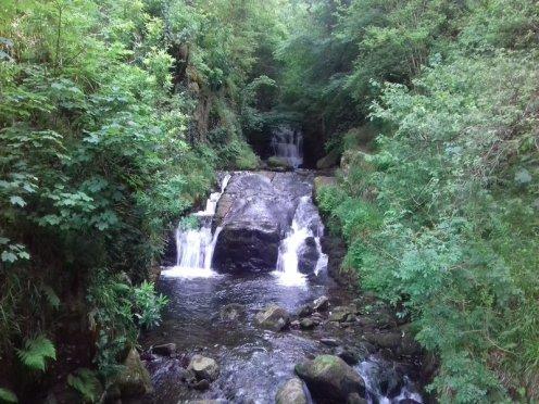 Watersmeet Waterfall