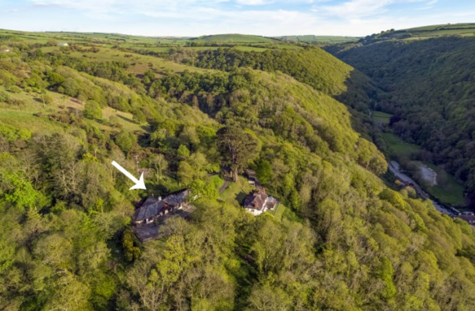 The Cottages Aerial View 3