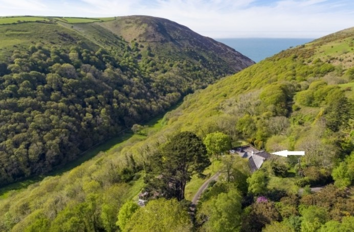 The Cottages Aerial View 1