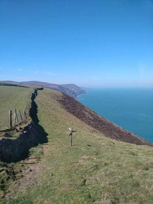 SW Coast Path Trentishoe