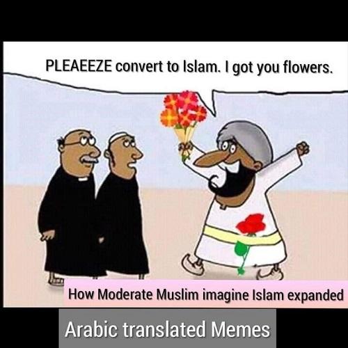 Spread of islam, peacefully