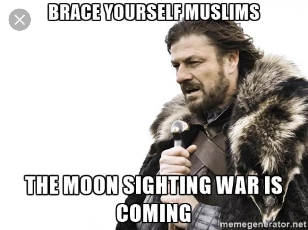 Ramadan moon sighting meme funny