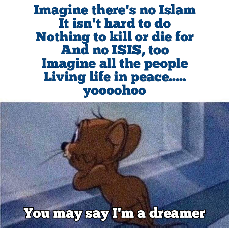 Imagine there is no heaven or religion
