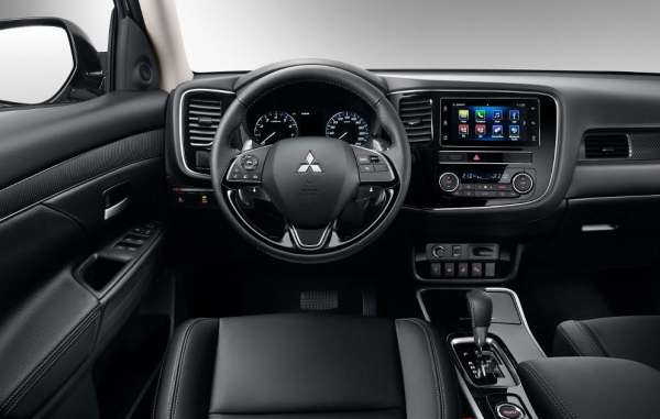 Salon Mitsubishi Outlander.