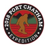 Official Limited Edition Port Chatham Expedition Patch- $9.95