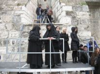 04. waiting for the entrance of the Greek Orthodox Patriarch