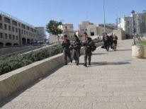 07. Israeli soldiers in Jerusalem