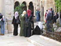 16. women visiting our church