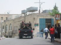 16. security near Nativity Church