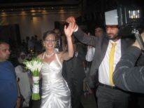 19. Kristel and Tareq entering the banquet