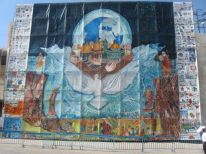 12. big painting in front of Peace Centre