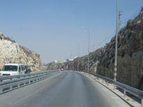 14. road from Ramallah to Bethlehem