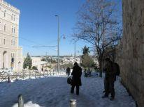 09. Jerusalem after the snowfall