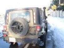 17. an Israeli jeep