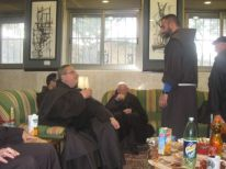 17. Syrian friar is talking with the guardian