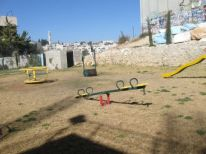 18. playing ground near the wall