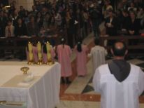 01. a contribution by children during the Mass to involve them more