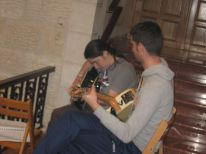 01. musical accompaniment during the Mass