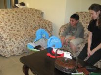 16. Nadeem playing with Kareem