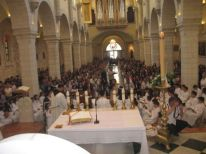 01. beginning of first communion celebration